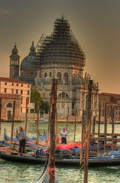 Gondol Parking...Venice
