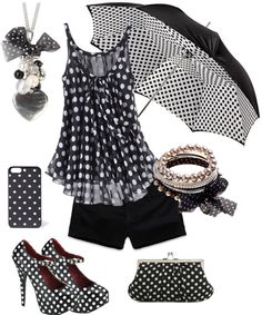 """""""Polka-Dot Passion"""" by coopicoopi ❤ liked on Polyvore"""