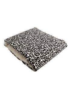 Leopard Print Reversible Throw