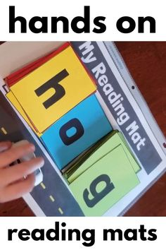 Let your students practice reading CVC words with this fun hands on CVC reading mat. Students can use a car to drive on the road as they say each sound. There are also several mats for different hands on activities as well as mats for CVCe words. Phonics Reading, Teaching Phonics, Phonics Activities, Kids Learning Activities, Kindergarten Literacy, Teaching Reading, How To Teach Phonics, Preschool Phonics, Phonemic Awareness Activities