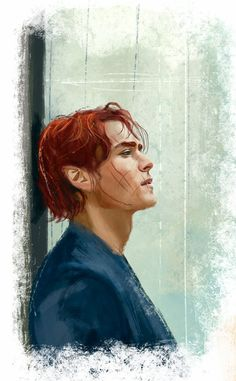 Maedhros with short hair (after Thangorodrim) http://namecchan.deviantart.com/