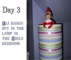 Elf on a shelf 2013 on pinterest fireplace screens candy jars and