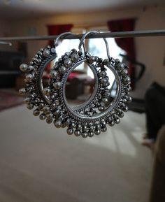 Jaipur Jhumkas Silver Balis by jhumkas on Etsy, $110.00
