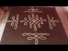 Rangoli Designs Flower, Rangoli Border Designs, Rangoli Designs With Dots, Rangoli Designs Images, Rangoli With Dots, Beautiful Rangoli Designs, Mehndi Designs, Rangoli Borders, Rangoli Patterns