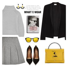 """What to wear"" by gul07 ❤ liked on Polyvore featuring American Vintage, Iris & Ink, T By Alexander Wang, Givenchy, Garance Doré, Anya Hindmarch, Oakley and Toolally"