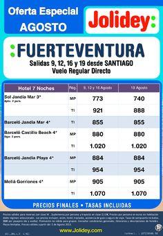 Fuerteventura desde SANTIAGO, salidas 9, 12, 16 y 19 de Agosto en Vuelo Regular Directo desde 740€ - http://zocotours.com/fuerteventura-desde-santiago-salidas-9-12-16-y-19-de-agosto-en-vuelo-regular-directo-desde-740e/