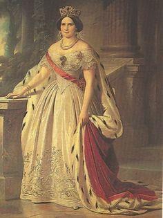 Princess Augusta Mathilde Wilhelmine Reuss  of Köstritz, Grand Duchess consort of Mecklenburg-Schwerin (26 May 1822 - 3 March 1962) also known as Auguste Mathilde Wilhelmine Prinzessin Reuß zu Köstritz, Großherzogin von Mecklenburg.   Titles and honours: HSH Princess Augusta Reuss of Köstritz HRH The Grand Duchess of Mecklenburg-Schwerin