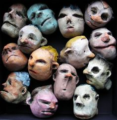 Polymer Clay People, Polymer Clay Art, Ceramic Sculpture Figurative, 3d Figures, Clay Faces, Stop Motion, Urban Art, Pottery Art, Puppets