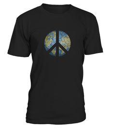Vintage Peace On Earth   World Peace T shirt  #tshirtsfashion #tshirtwomen #tshirtmen #tshirtprinting