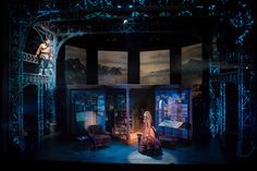 Roof of the World. Kansas City Rep. Scenic design by Jack Magaw. 2016