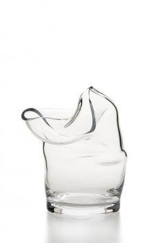 Minimalist glass vase   Acne Studios