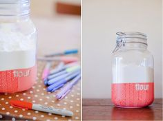 regardsetmaisons: De la couleur sur les pots pour le printemps- DIY -