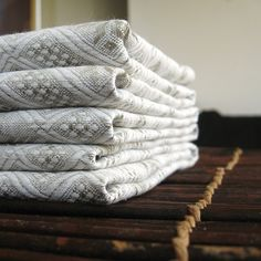 Cloth Napkins or Placemats Handmade of Pure Linen Set of Six Rustic... ($39) ❤ liked on Polyvore featuring home, kitchen & dining, table linens, grey, home & living, linens, cloth table linens, linen placemats, cloth table napkins and gray table linens