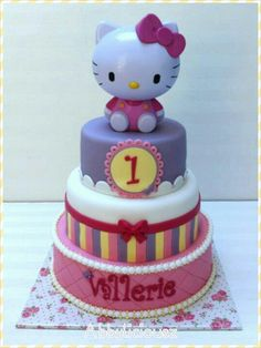 Hello Kitty cake <3