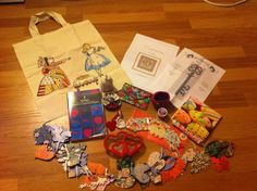 Awesome presents from the Christmas Curiosity Project!