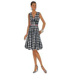 B6204, Misses' Dress