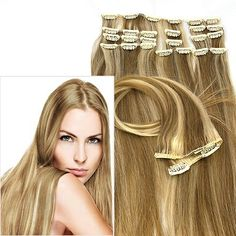 Extensions Echthaar Modern Hairstyles, Bobby Pins, Salons, Hair Accessories, Hair Styles, Beauty, Real Human Hair Extensions, Extensions, Hair Plait Styles