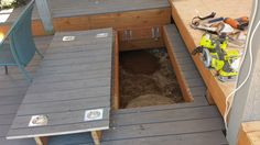 "Deck hatch over septic "" First call septic"""