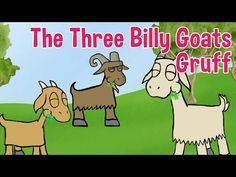 The Three Billy Goats Gruff - Animated Fairy Tales for Children - YouTube