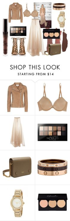 """""""True brown k"""" by tomboyllama995 on Polyvore featuring Reiss, Calvin Klein Underwear, Vionnet, Maybelline, Mulberry, Cartier, DKNY and Gianvito Rossi"""