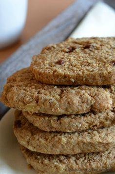 Digestive Cookies oder einfach: Dinkel-Hafer-Kekse
