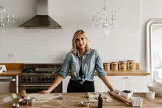 Baking/Kitchen Photoshoot –baker/chef portrait, farmhouse style kitchen