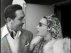 Walt Disney and Carmen Miranda
