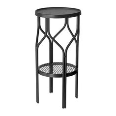 SOMMAR 2018 Plant stand, indoor/outdoor, black - IKEA