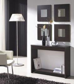 Muebles recibidores para entradas pequeñas