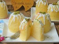 Tencerede Limonlu Fincan Kek
