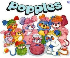 Popples! I had a light purple one!