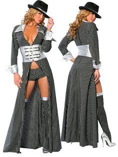 Sexy Mafia Mama Costume
