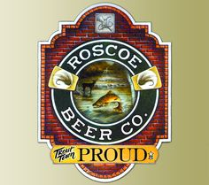 Roscoe Beer Co. Trout Proud