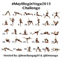Yoga Challenge May 2016