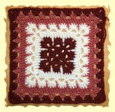 cuadraditos en crochet