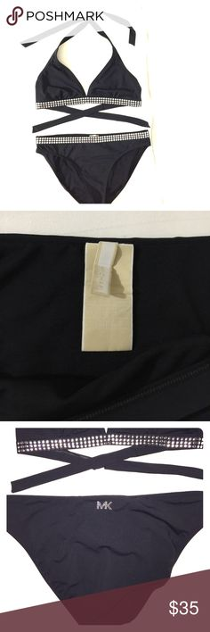 MICHAEL by  Michael Kors Bikini set Is in excellent condition. No pads MICHAEL Michael Kors Swim Bikinis