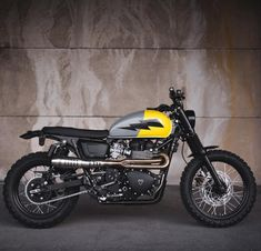 "Triumph Scrambler ""The 2.0"" by Injustice Customs #motorcycles #scrambler #motos 