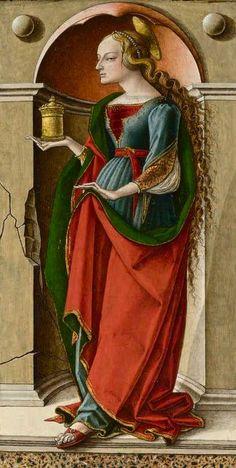 Carlo Crivelli, Saint Mary Magdalene, ca. 1491-4.