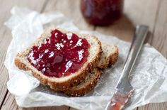 Check out Bread and Jam by More Than Cake on Creative Market Schauen Sie sich Brot und Marmelade von More Than Cake auf Creative Market an Chutney Recipes, Jam Recipes, Cooking Recipes, Coffee Break, Homemade Horseradish, Bread Jam, Good Morning Breakfast, Food Gifts, Gourmet