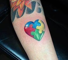 17 Touching Autism Inspired Tattoos | Tattoodo.com