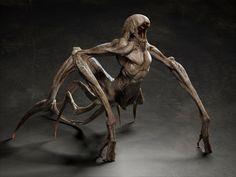 rigging skin 3d obj Monster Concept Art, Alien Concept Art, Creature Concept Art, Monster Art, Creature 3d, Beast Creature, Creature Drawings, Creature Design, Dark Creatures
