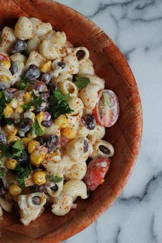 Southwestern Pasta Salad - Cooking with Books