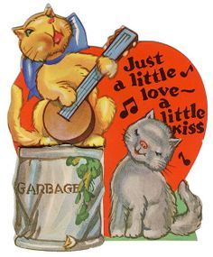vintage everyday: Funny Vintage Valentine's Day Cards for Your Inspiration