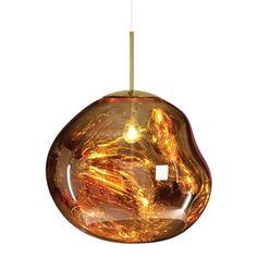 Tom Dixon Melt Taklampe Gold Stor