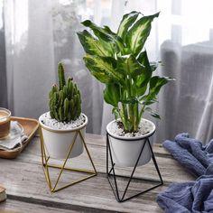 Geometric Ceramic Planter
