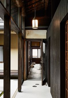 This 120-year-old Kyoto townhouse was once a plantation, but it has been restored to create a guesthouse that celebrates Japanese interior design traditions
