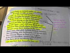 How to Annotate A Text. Would love to assign students to make their own videos.