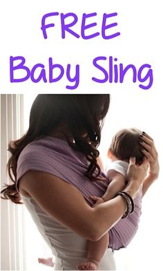 FREE Super Cute Baby Sling!  {just pay s/h} ~ these make great gifts, too! #babies #thefrugalgirls