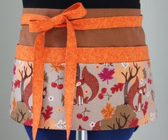 Thanksgiving Server Utility Apron for Hosts & Cooks