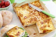 Clafoutis au jambon et aux maroilles Weight Watchers, un bon petit plat très facile à faire moelleux et crémeux peut se déguster comme repas léger du soir.